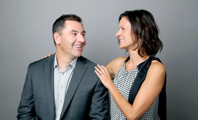 Dr. Aaron Todd and Dr. Amanda Tulk
