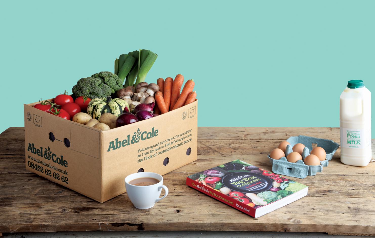 Abel & Cole Organic Food & Drink – Home deliveries