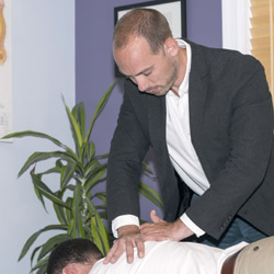 Dr. Paul doing Treatment