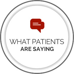What Patients Are Saying
