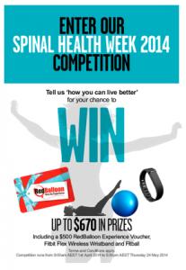 Spinal Health Week Prizes