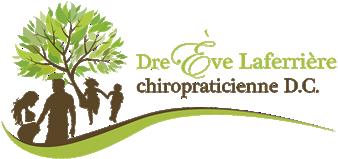 Dre. Ève Laferrière chiropraticienne D.C. logo - Home