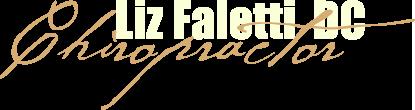 Liz Faletti, Chiropractor logo - Home