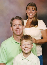 Dr. David Bentz and his beautiful family.