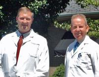 Ironton chiropractors, Dr. Randall Krumm and Dr. Richard Thompson