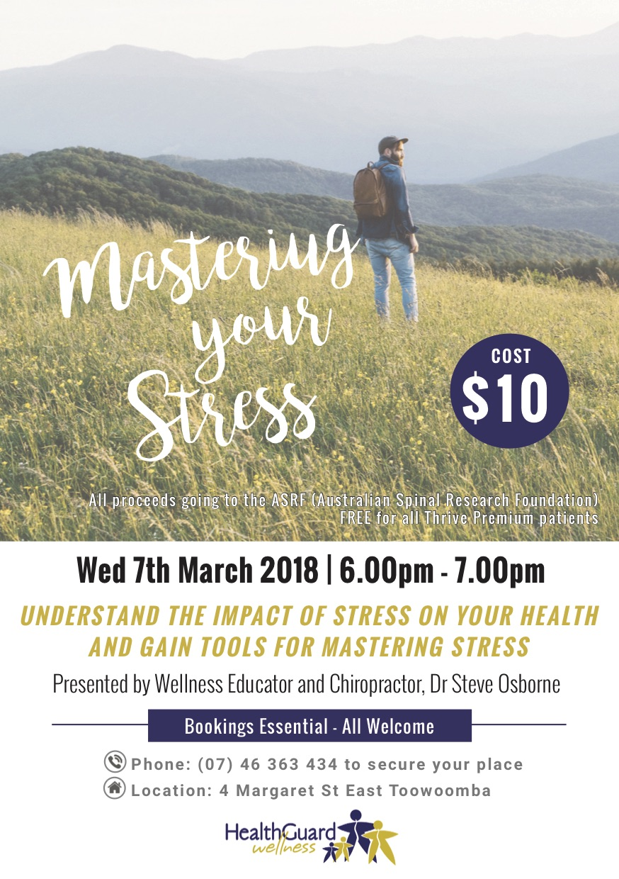 Mastering Your Stress Flyer-FINAL