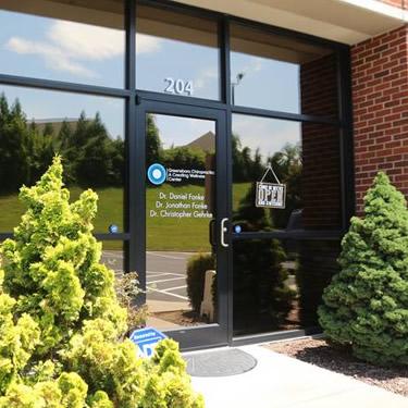 Greensboro Chiropractic building exterior