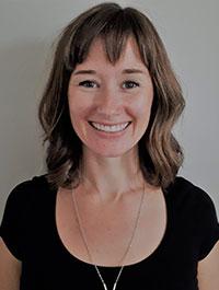 Headshot of Aislinn Moore, RMT, B.A.