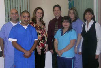 Steve, Juan, Dr. Dembeck, Dr. Schoneberger, Silvia, Sara, Victoria