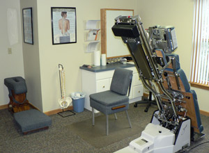 Chiropractic adjustments are the primary form of care in our office.