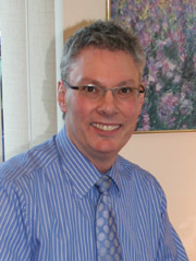 Portrait of Dublin chiropractor, Dr. Robert McCleary