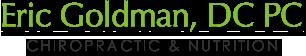 Eric Goldman DC PC Chiropractic & Nutrition logo