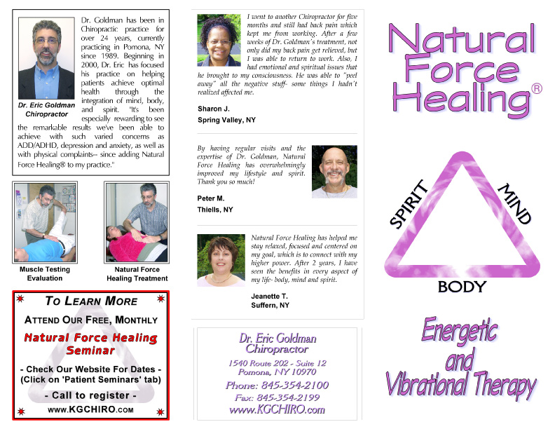 Natural Force Healing 1