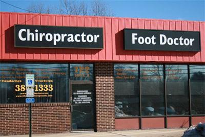 Chiropractor Woodbury Office