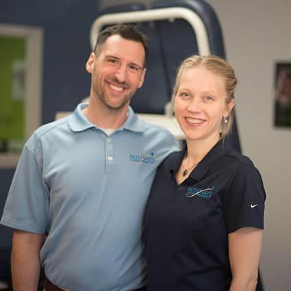 Drs Dan and Hannah Hall