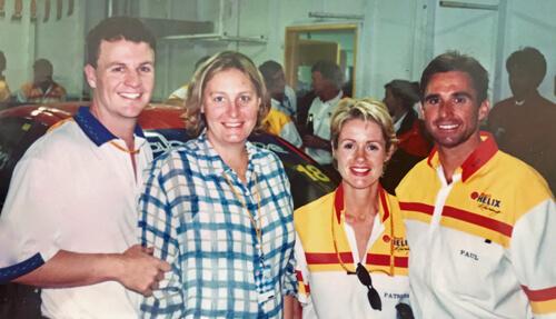 Paul Radisch and crew