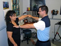 Gentle muscle testing
