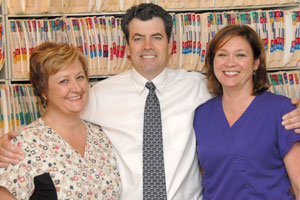 Dr. John Jones, Phyllis and Sherri