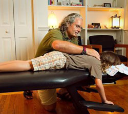 Dr. Jeffrey Smith provides gentle adjustments great for all ages.