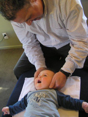 Chiropractic adjustments are painless and will not hurt your child.