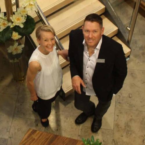 St Helier chiropractors, Andrea & Adrian Luckhurst
