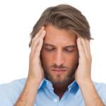 Guy with a headache