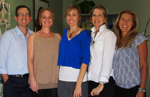 The team at Be Healthy Chiropractic