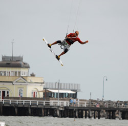 Dr. Mario windsurfing