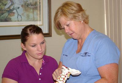 Mandeville Chiropractor : Examination