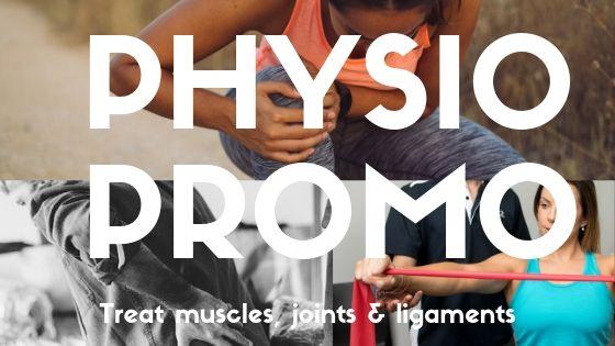 Physio promo- website header image