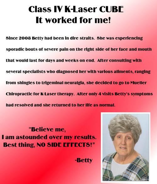 Betty Testimony