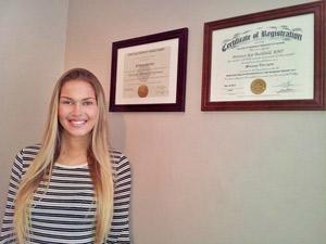 LaFay Family Chiropractic Massage Therapist, Brittany Bushfield