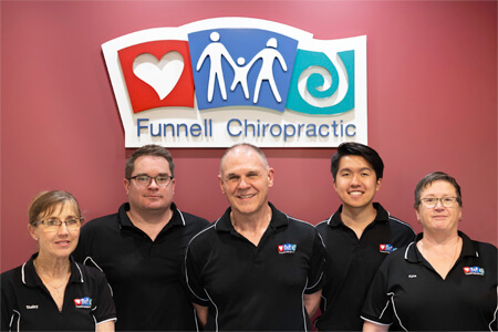 The team at Funnell Chiropractic