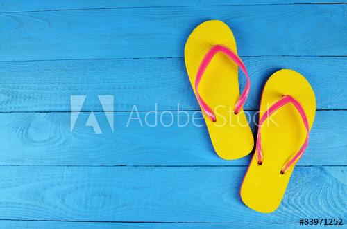 flip flop for blog post