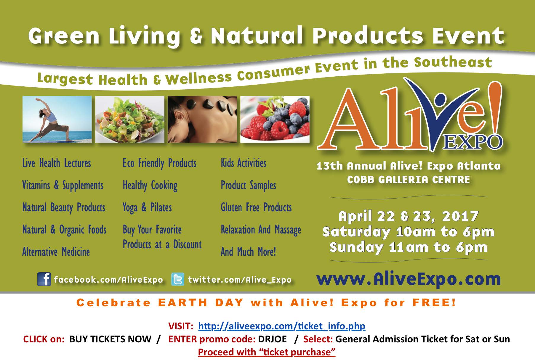 Alive expo 2017 flyer