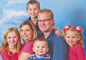 Wasilla chiropractor Dr. Payne and her family