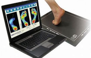 Orthotic foot analysing system