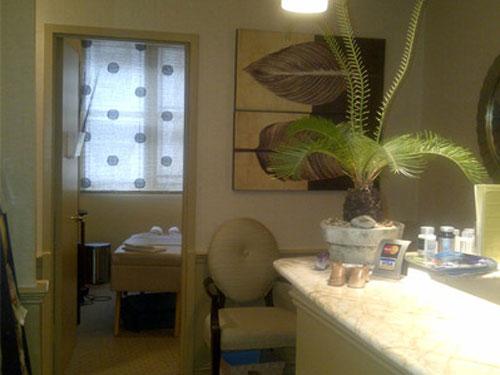 Erickson Healing Arts Reception Area