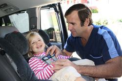 child car seat safety Fayetteville