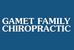 Gamet Chiropractic logo - Home