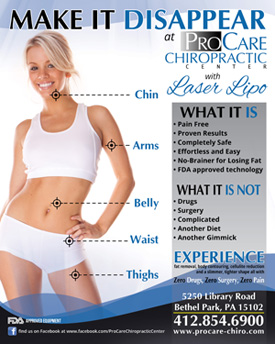 Lipo Laser at ProCare Chiropractic Center