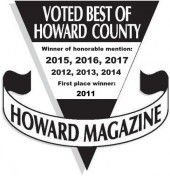 2017 Best of Howard Country award image