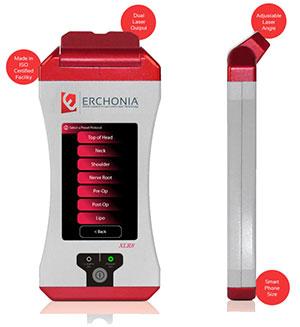 Photo of the Erchonia Laser machine