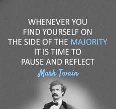 Majority-mark twain