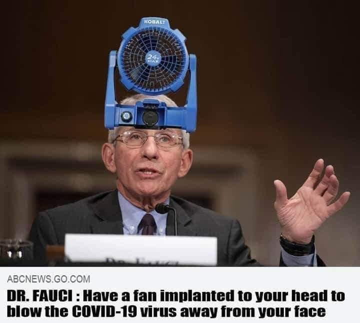 corona-Fauci-head fan