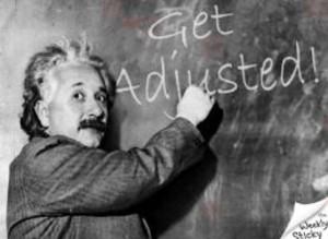 einstein-get adjusted