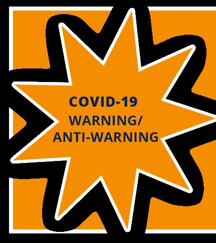 covid warning