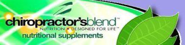 Chiropractors Blend logo