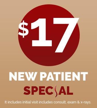 $17 New Patient Special