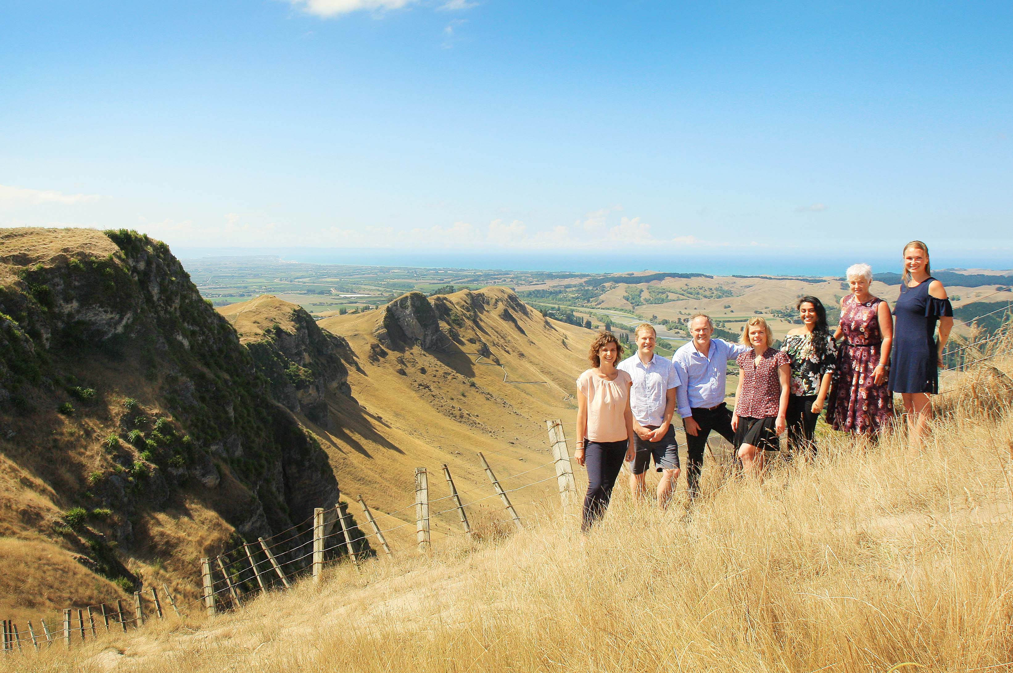 First Chiropractic's team of Chiropractors Dr. Emma Mead, Dr. Chris Anderson, Dr. Jeremy Gilbert, Dr. Tamzin Drawe, Dr. Sonam Patel, Dr. Denise Brown and Dr. Kate Anderson provide Hawke's Bay residents a modern approach to long-term health and well-being.
